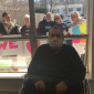 Family members wish man happy 90th birthday outside window at Saugus rehab center